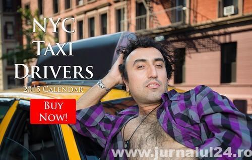 nyc-calendar- sexy taximetristi