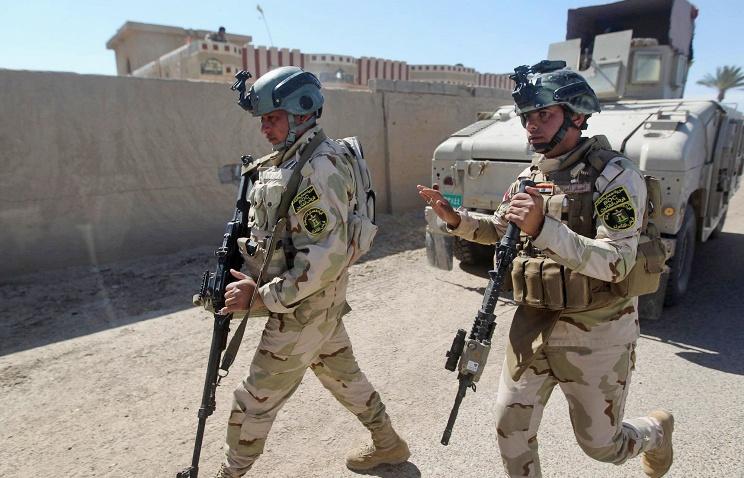fortele irakiene