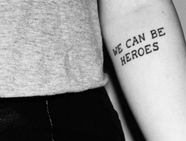 tatuaj text erou