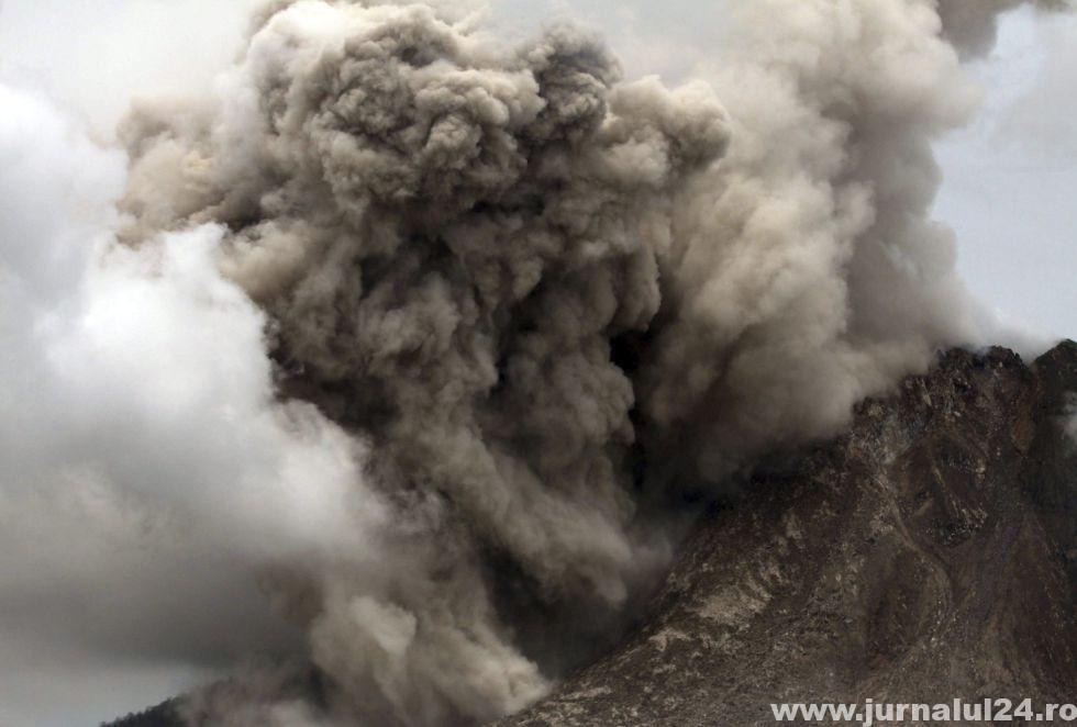 vulcanul din sumatra eruptie