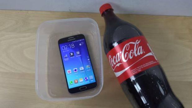 coca cola samsung s6