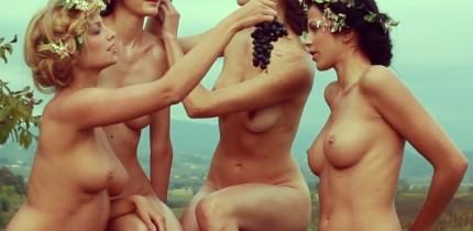 modele goale promoveaza vinul italian