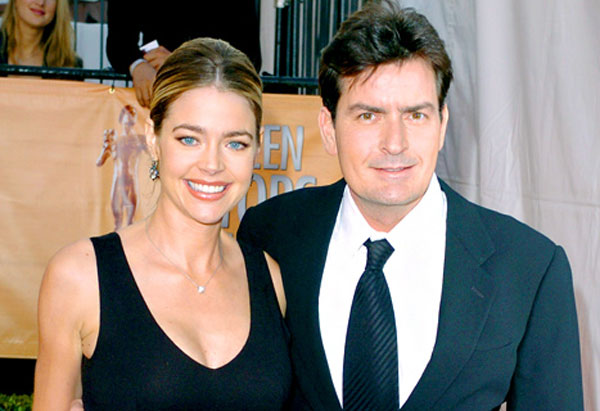 charlie sheen si denise richards