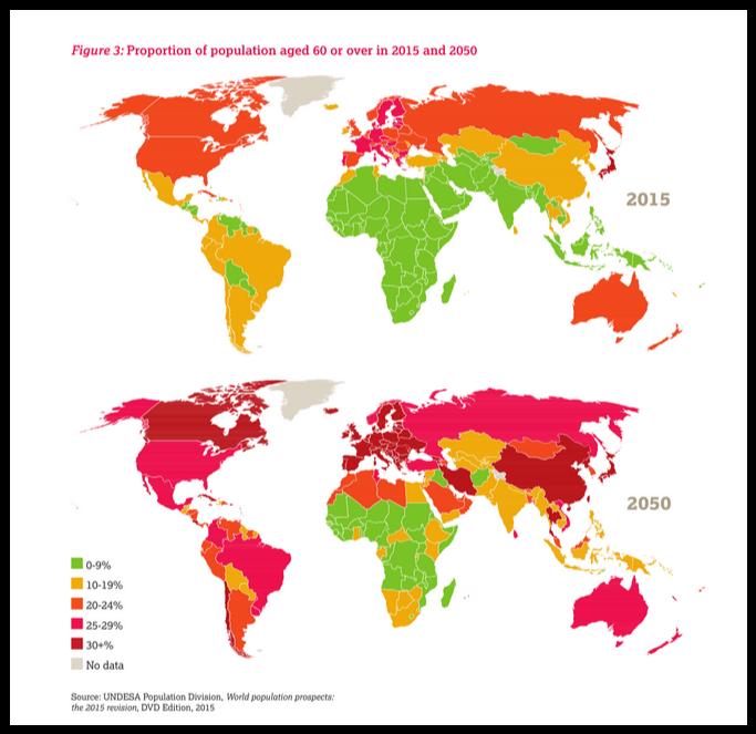 harta imbatranire populatie