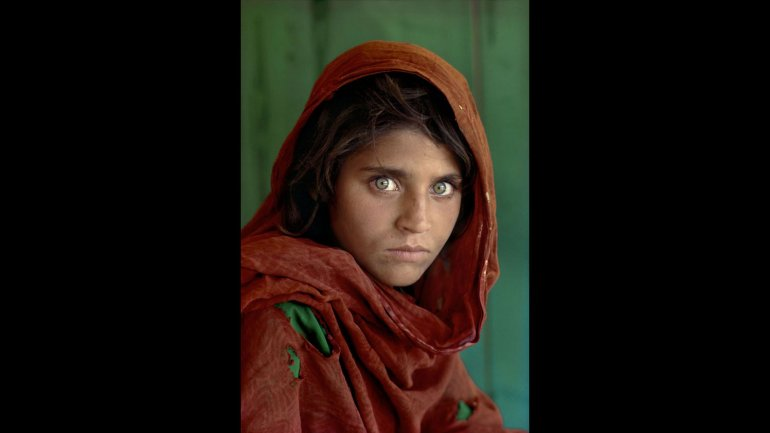 fotoportret Steve McCurry