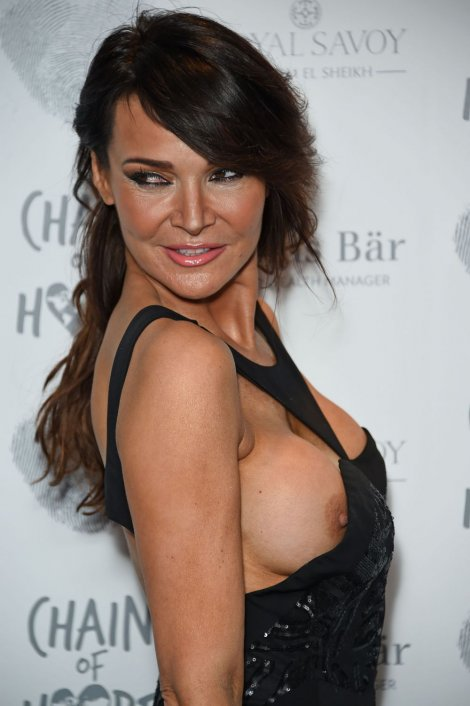 Lizzie Cundy in tata goala