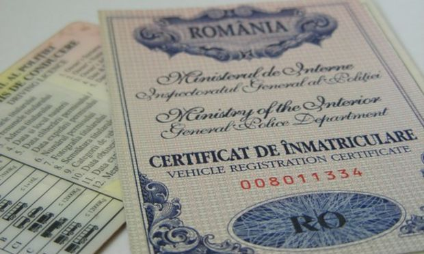 certificat de inmatriculare