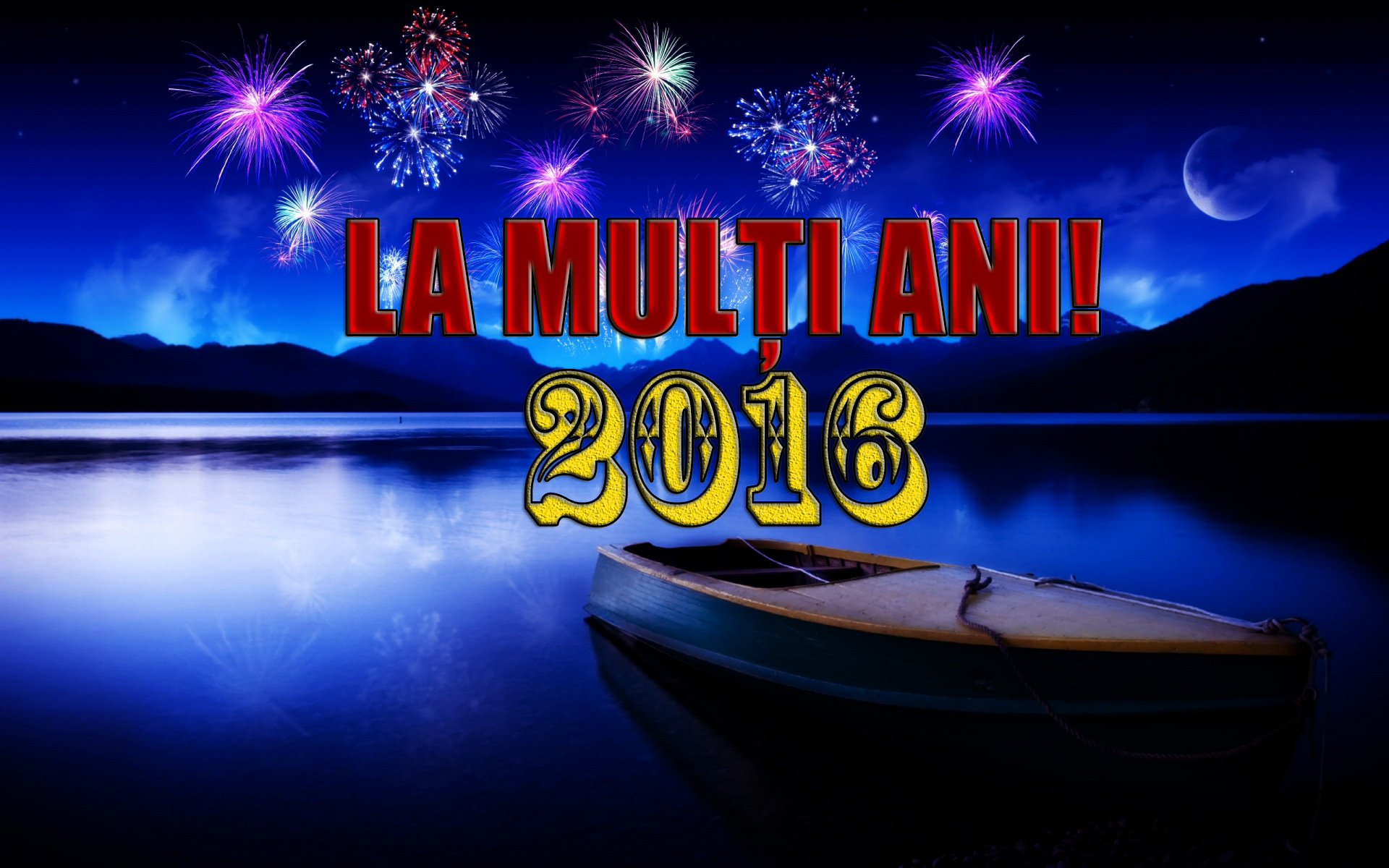 imagine felicitare la multi ani 2016