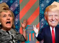 Hillary si Tramp