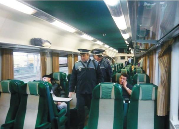 controale in tren